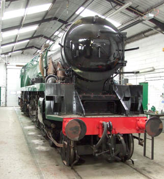 Sir Archibald Sinclair in the Paint Shop at the carriage works - Richard Salmon - 28 Mar 2009