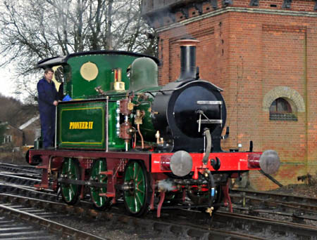 178 makes its first in-steam moves in preservation - 21 February 2010 - Derek Hayward