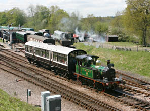 178 with Bluebell Special at Horsted Keynes - Tony Sullivan - 6 May 2010