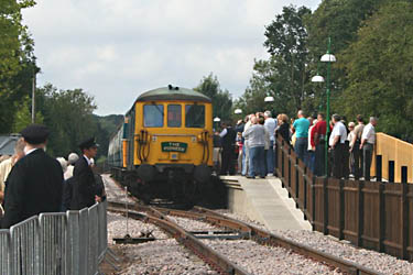 After the inaugural train had returned to East Grinstead - Colin Duff - 4 September 2010