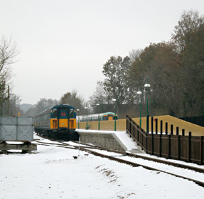 Vep at East Grinstead in the snow - Ian Maggs - 8 Dec 2010