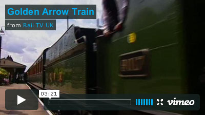 Golden Arrow Video produced by Rail TV UK