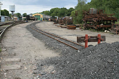 15 inch gauge line at Horsted - Jon Bowers - 1 August 2010
