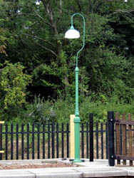 New lamp post at East Grinstead - John Sandys - 26 August 2010