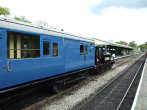 55 Stepney and coach 6575 recreate 50 years earlier - Richard Salmon - 17 May 2010