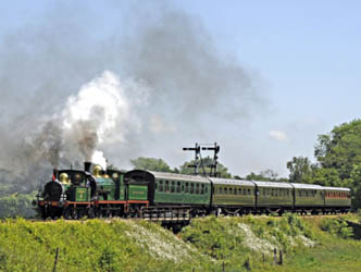 178 and 592 leaving Sheffield Park - Derek Hayward - 21 May 2011