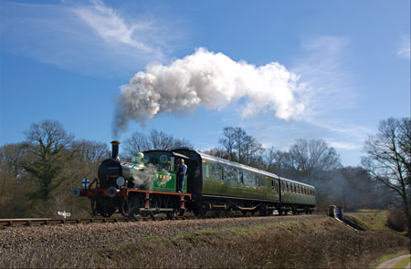 P-class No.178 with service train - Paul Pettitt - 19 March 2011