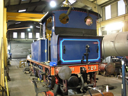 323 being re-assembled - Duncan Bourne - 6 February 2011