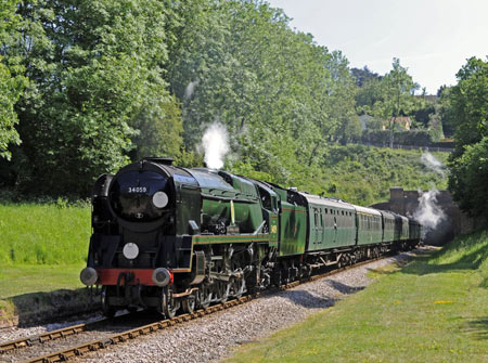 34059 at West Hoathly - Derek Hayward - 21 May 2011