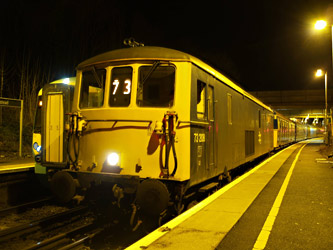 73208 with Vep at East Grinstead - Andrew Crampton - 7 February 2011