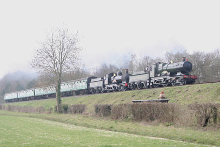 Dukedog with City of Truro at Mid Hants Railway - Andrew Strongitharm - 26 March 2011