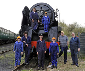 9F club members with 92240 - Derek Hayward - 16 April 2011