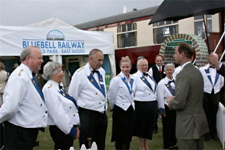 Prince Edward at the Bluebell stand at the South of England Show - Tony Sullivan - 9 June 2011