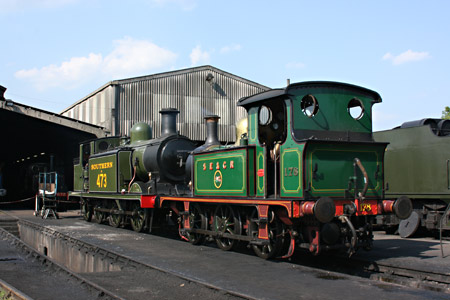 178 and B473 on shed at SP - Tony Sullivan - 21 April 2011