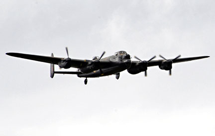 Lancaster flypast at Horsted - Derek Hayward - 8 May 2011