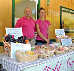 Cuckfield Candy at Food Fair - Derek Hayward - 26 June 2011