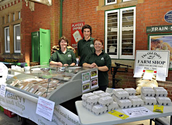 The Old Dairy Farm Shop at Food Fair - Derek Hayward - 26 June 2011