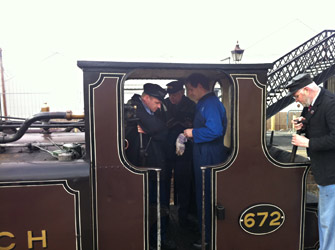 Footplate Experience at Sheffield Park - Robert Else - 22 January 2011