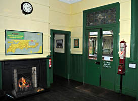 Booking Hall at Kingscote - Derek Hayward - 6 February 2011