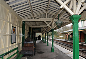 Platform 2 at Kingscote - Derek Hayward - 6 February 2011