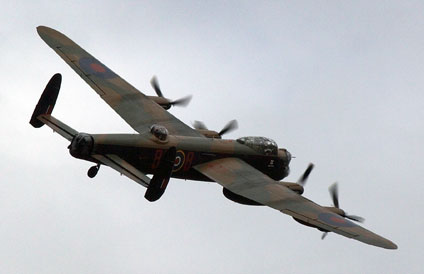 Lancaster flypast at Horsted - Paul Pettitt - 8 May 2011