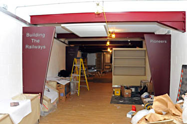 Museum progress - Derek Hayward - 24 February 2011