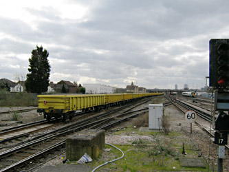 'Waste by Rail' train at Norwood Junction - Ian Maggs - 9 March 2011