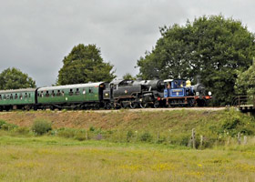 323 and 80151 at Poleay Bridge - Derek Hayward - 13 Aug 2011