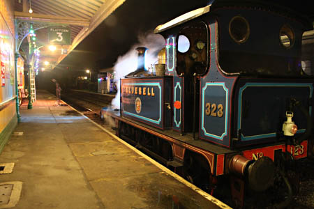 323 'Bluebell' at Horsted Keynes - Andrew Strongitharm - 3 December 2011