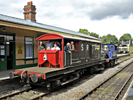 Ardingly spur brake-van ride - Derek Hayward - 13 Aug 2011