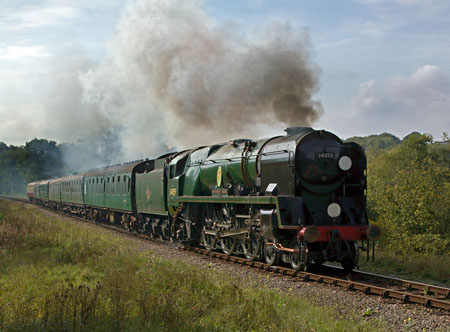 34059 with 11am departure from Sheffield Park - Paul Pettitt - 24 September 2011