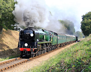 34059 with 3pm train - Peter Edwards - 24 Sept 2011