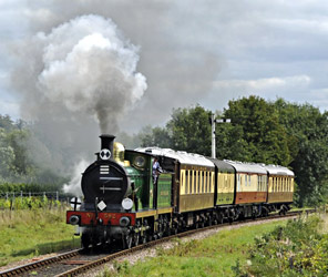 592 with the Pullman Charter - Derek Hayward - 29 Aug 2011