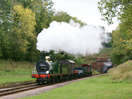 The vintage goods train at West Hoathly - Tony Haylar - 8 October 2011