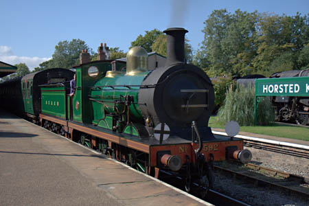 C-class at Horsted Keynes - John Sandys - 15 September 2011