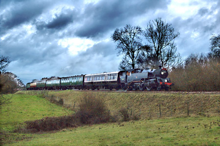 80151 near 3-Arch Bridge - Paul Furlong - 4 December 2011