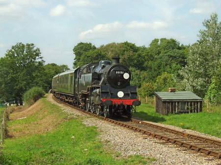 80151 at Monteswood Lane Bridge - Ashley Smith - 30 July 2011