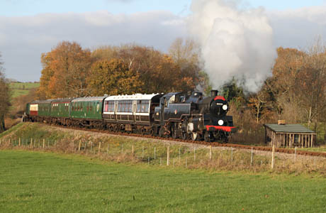 80151 on a Santa Special - Andrew Strongitharm - 3 December 2011