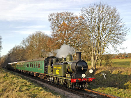 B473 at Ketches with Santa Train - Derek Hayward - 10 December 2011