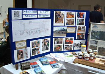 Our stand at Brighton Maker Faire - John Sandys - 3 Sept 2011