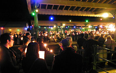 Carol service at Horsted Keynes - Robin Willis - 3 Dec 2011
