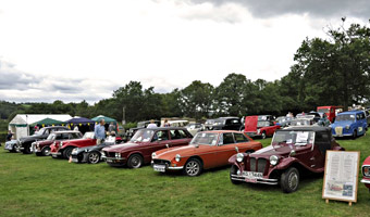 Classic Cars at Horsted Keynes - Derek Hayward - 13 Aug 2011