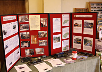 Fenchurch Fund stand Corby & District exhibition - Clive Emsley - 9 Oct 2011