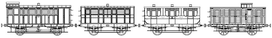 LBSCR Craven-era train - Ian White