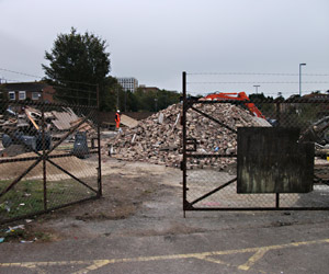 Demolished - Richard Clark - 8 Oct 2011