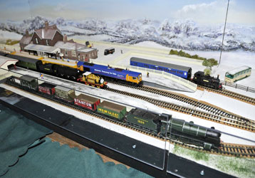 Model Railway at Horsted Keynes - Derek Hayward - 10 Dec 2011