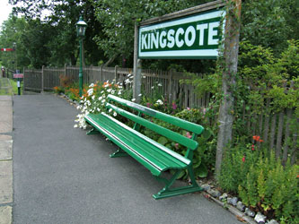 Refurbished seat at Kingscote - John Sandys - 9 Aug 2011