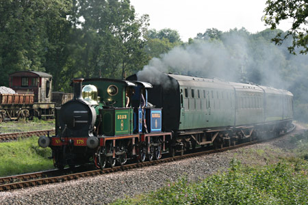 P-class pair approach Horsted Keynes - Tony Sullivan - 19 August 2011
