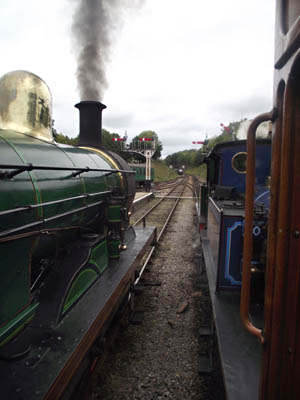 Three SECR engines together at Horsted - Nathan Gibson - 8 October 2011