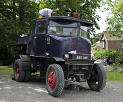 Sentinel steam lorry ARE 195 - Derek Hayward - 13 Aug 2011